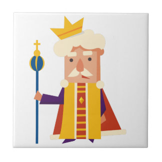 King Cartoon character Tile