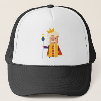 King Cartoon character Trucker Hat