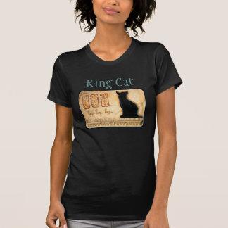 King Cat Egyptian Cat  Cartouche Tee