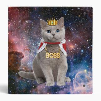 king cat in the space vinyl binders