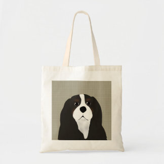 King Charles Cavalier Pillow Tote Bag