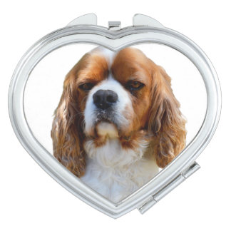 King Charles Cavalier Spaniel Dog Face, Vanity Mirror