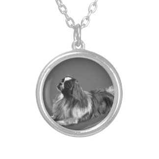 King Charles Silver Plated Necklace