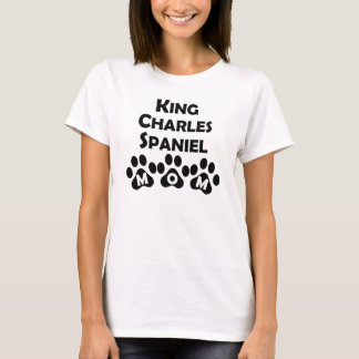 King Charles Spaniel Mom T-Shirt