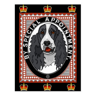King Charles Spaniel Royalty Postcard
