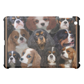 King Charles Spaniels Collage IPAD CASE