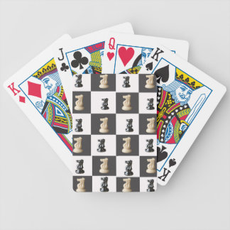 King Chess Board Bicycle Playing Cards