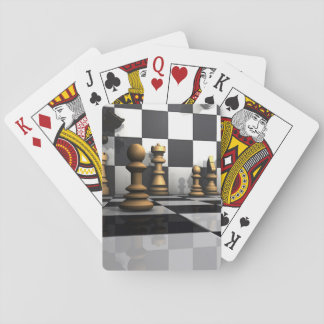 King Chess Play Poker Deck