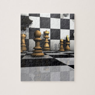 King Chess Play Puzzle