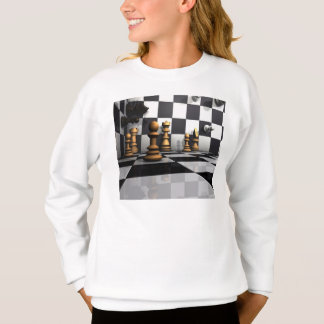 King Chess Play Sweatshirt