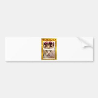 King Claude Bumper Sticker