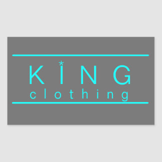 KIng clothing stickers