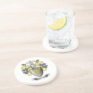 King Coat of Arms Coaster