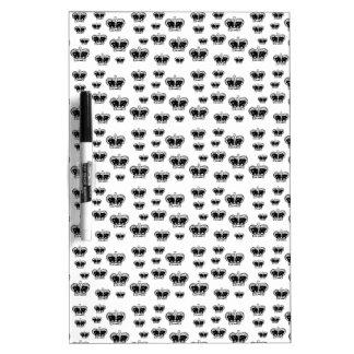 King Crown Pattern Dry Erase Boards