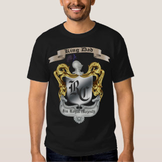 King Dad His Royal Majesty Father's Day T-Shirt