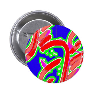 King Dangle 2 Inch Round Button