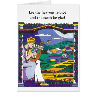 King David's Song Card