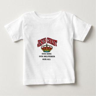 king deliverer all jc baby T-Shirt