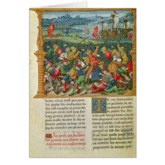 King Edward III Waging War at the Battle of Card