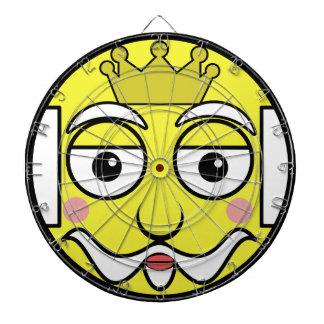 King Face Dartboard