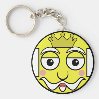 King Face Keychain