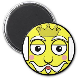King Face Magnet