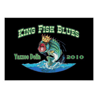 King Fish Blues Fest 2010 Poster