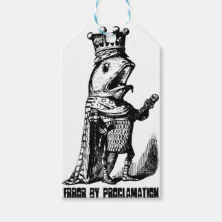 King fish:  Error by Proclamation Gift Tags
