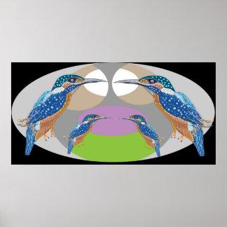 King Fisher - Favorite Bird Posters