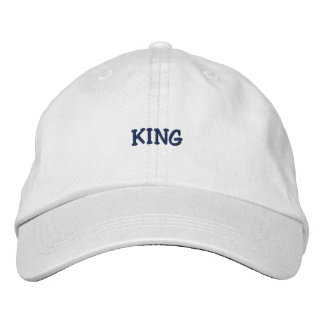 King FlexFit Hat Embroidered Hat