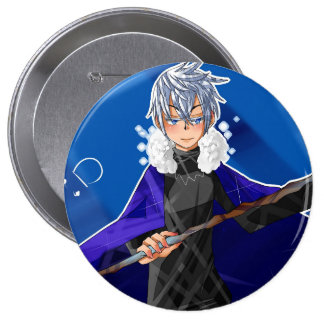King frost 4 inch round button