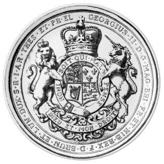 King George 2nd Plate
