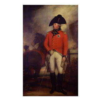 King George III in 1799 by Sir William Beechey Poster
