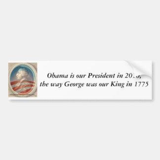 King George Obama III Bumper Sticker