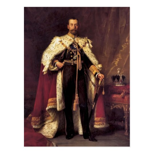 King George V of the United Kingdom Postcard