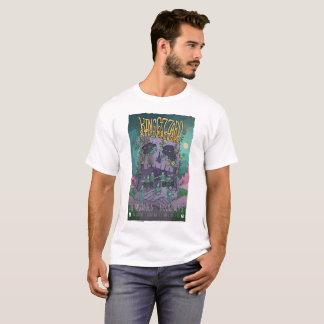 King Gizzard and the lizard wizard gig poster T-Shirt