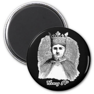 King Henry IV Portrait on Tshirts and Gifts Magnet