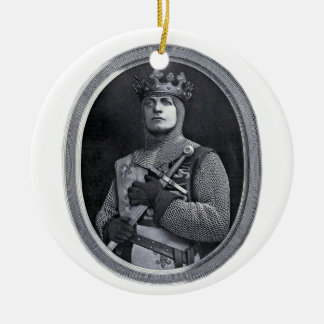 King Henry V of England Ceramic Ornament