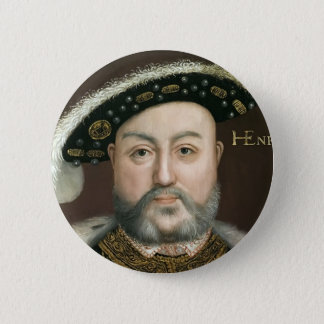 King Henry VIII 2 Inch Round Button