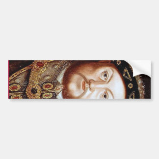 King Henry VIII Bumper Sticker