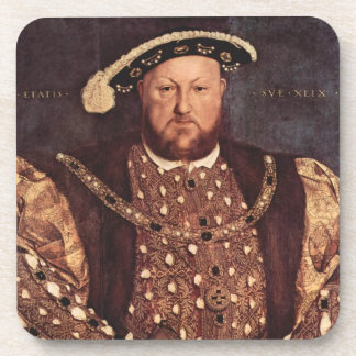 KIng Henry VIII Cork Coaster