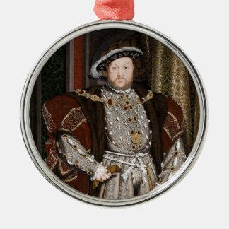 King Henry VIII of England Metal Ornament