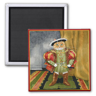 King Henry VIII royal cat magnet