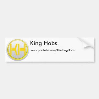King Hobs Sticker Bumper Sticker