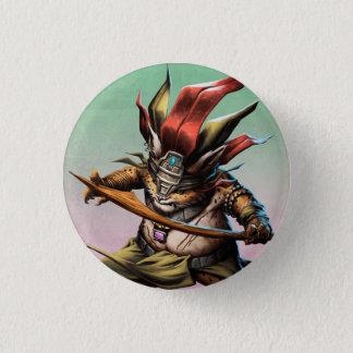 King Ja'gwar 1 Inch Round Button