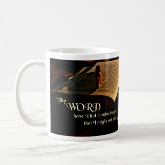 King James Bible Mug - Psalm 119:11