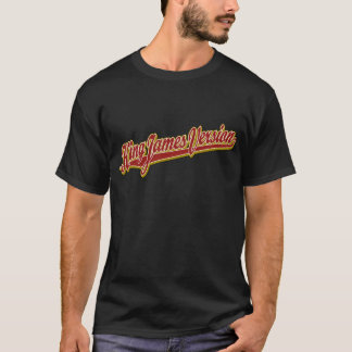 King James Version fancy logo T-Shirt