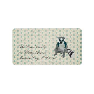 King Julian Vintage  Label Address Label
