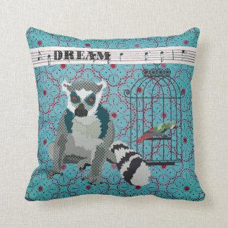 King Jullian Boho Blue Dream Mojo Pillow