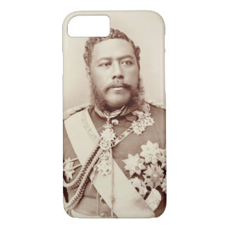 King Kalakaua (1836-91), late c19th (sepia photo) iPhone 8/7 Case